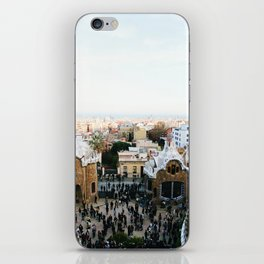 View from Park Güell iPhone Skin