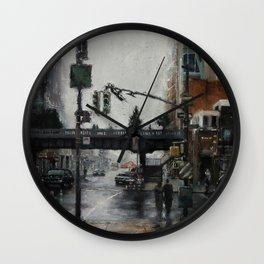The Highline Wall Clock