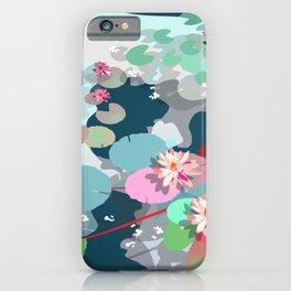 Aquatic garden iPhone Case