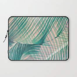Tropical Colorful Leaves Laptop Sleeve