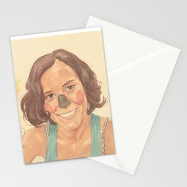 The koala girl Stationery Cards