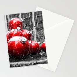 Christmas in New York Ornaments Stationery Cards