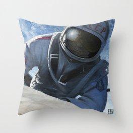 Spacewalk One Throw Pillow