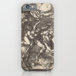 Albrecht Dürer - Abduction of Proserpine on a Unicorn (1516) iPhone Case