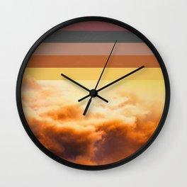 Colorscape V Wall Clock