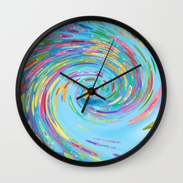 Catch a Wave Wall Clock