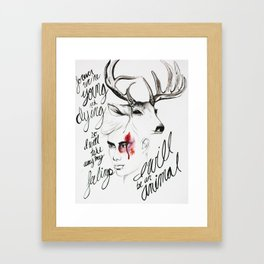 Wild Youth Framed Art Print