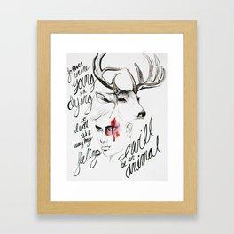 Wild Youth Framed Art Print