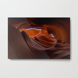 Antelope Canyon Sandstone Geology Formation Metal Print
