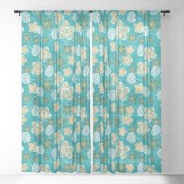 Flower power Sheer Curtain