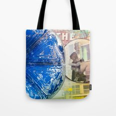 music as flower and Monroe, audio flower, blue mood. Worldwide Shipping Tote Bag