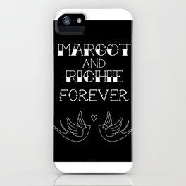 Margot and Richie Tennenbaum Forever iPhone Case