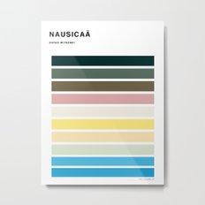 The colors of - Nausicaa Metal Print