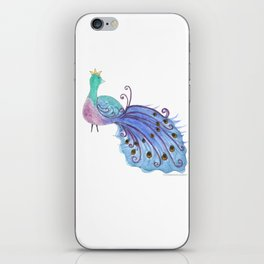 Whimsical Peacock iPhone Skin