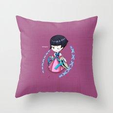 Chibi_corea Throw Pillow