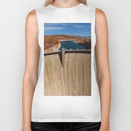 Glen Canyon Dam and Lake Powell Biker Tank