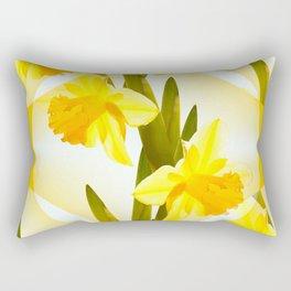 Spring Yellow Flowers #decor #society6 #buyart Rectangular Pillow