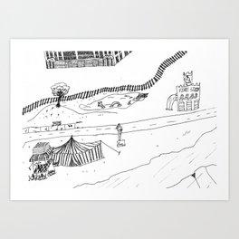 Cirque De Soy Art Print