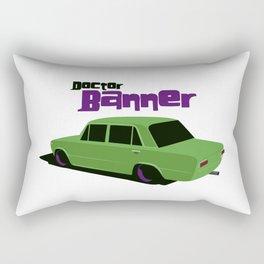Doctor Banner Rectangular Pillow