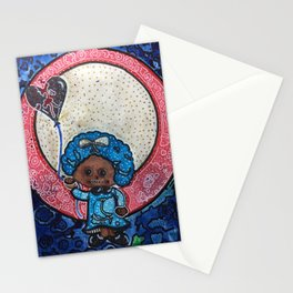 Black ad Blu Stationery Cards
