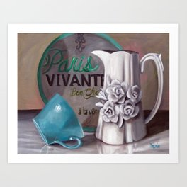 Parisian Still life Art Print