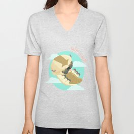 Appa - Avatar the legendo of Aang Unisex V-Neck