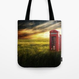 Now home to the red telephone box Tote Bag