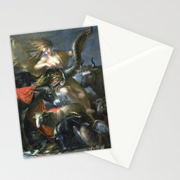 Salvator Rosa Allegory of Fortune Stationery Cards