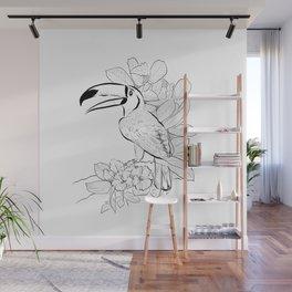 Brazilian Toucan Wall Mural