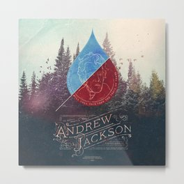 Parachute Journalists - Andrew Jackson Metal Print