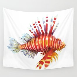 Firefish - lion fish Wall Tapestry