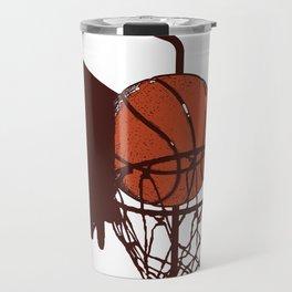 Basket Ball Basketball Hits Game Team Gift Travel Mug