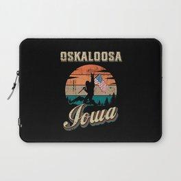 Oskaloosa Iowa Laptop Sleeve