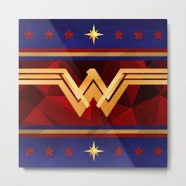 Wonder Power Courage Metal Print
