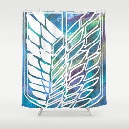 Attack on Titan Shower Curtain