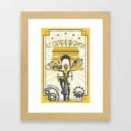 Le Grande Boucle Tour de France Framed Art Print