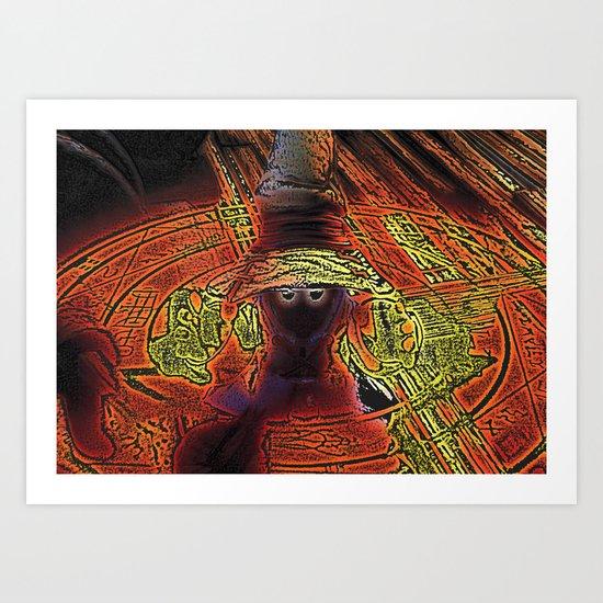 Incendium Waltz  Art Print