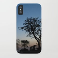 African Trees iPhone X Slim Case