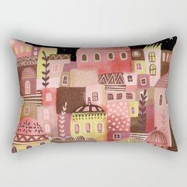 Pink Palaces Rectangular Pillow