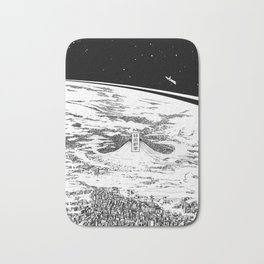 Space upon us Bath Mat