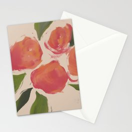 A Meeting Of Peaches. Stationery Cards