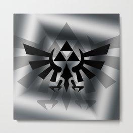 The Legend Of Zelda Logo Metal Print