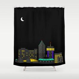 Wichita, Kansas Skyline Shower Curtain