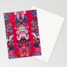 Full Bloom Red Stationery Cards