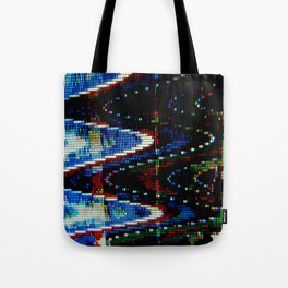 VHS-STYLE DISTORTION Tote Bag