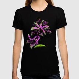 Snake Palms - Purple T-shirt