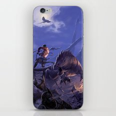 THE BEASTMASTER iPhone & iPod Skin