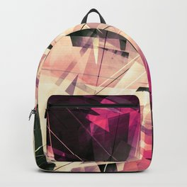 Future Punk - Geometric Abstract Art Backpack