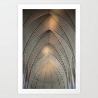 concrete Art Prints featuring Concrete by Daniel Fornies
