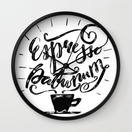 Magic Morning Wall Clock